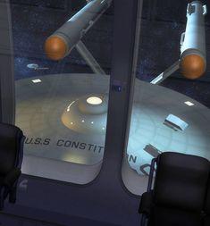 """Star Trek"" Starfleet starship pictures and gifs. Scotty Star Trek, Star Trek 1, Star Trek Ships, Star Trek Models, Sci Fi Models, Star Trek Convention, Star Trek Generations, Starfleet Ships, Star Trek Images"