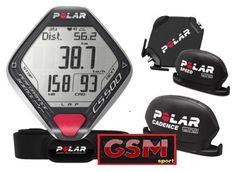 Cardiofrequenzimetro POLAR CS500 CAD