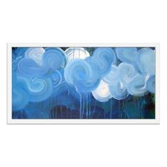 Check out this item at One Kings Lane! Linda Colletta, Cloudscape II