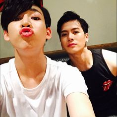 BamBam + Jackson Wang