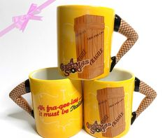 A Christmas Story sculpted coffee mug