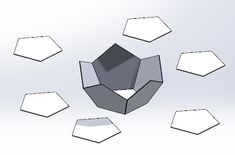 Solidworks Platonic Solid - DanCaulWIT Platonic Solid