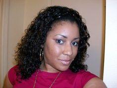 Half Wigs: Wearing the Human Hair Natural Hair Care, Natural Hair Styles, Half Braided Hairstyles, World Hair, Top Braid, Half Wigs, Stylish Hair, Braid Styles, Hair Designs