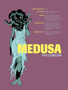 Mythology + Religion: Greek Goddess Medusa | #Mythology #GreekMythology #Medusa