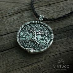 lanseis viking necklace men pendant wolf and snake talisman norse world tree jewelry moon with Pentagram pendant Jewelry Tree, Fine Jewelry, Men Necklace, Pendant Necklace, Magical Jewelry, Spiritual Jewelry, Viking Jewelry, Vikings, Vintage Jewelry