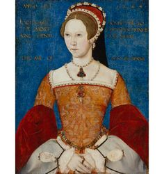 Queen Mary I by Master John oil on panel, 1544 NPG 428 © National Portrait Gallery, London