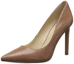Nine West Women's Tatiana Leather Dress Pump, Natural Textured, 5.5 M US - http://all-shoes-online.com/nine-west/5-5-b-m-us-nine-west-womens-tatiana-leather-dress-16