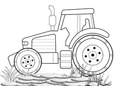 Tractor Coloring Pages to Teach about Farm Literacy - Coloring Pages Tractor Coloring Pages, Tractors, Literacy, Kids Rugs, Teaching, Decor, Decoration, Decorating, Kid Friendly Rugs