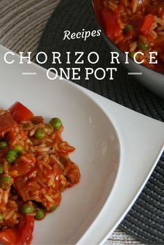 Chorizo Rice pot, one pot meals, one pot dishes: Chorizo Rice pot, one pot meals, one pot dishes