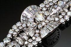 Art Deco diamond bracelet. Circa 1936. O. M. G.