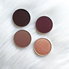 Perfectly pressed and waiting to join your eyeshadow collection. Photo credit: @tanika.jaun (Instagram). • Americano • Cherry Cola • Wild West • Cosmopolitan