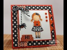 Love her cards & videos : AmyR's 2013 Halloween Series #12