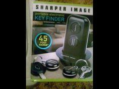 Sharper Image Portable Key Finder \ My Cell Finder!!