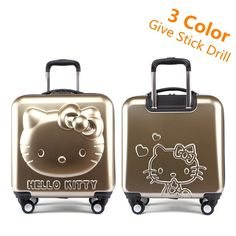c48f2dadbfb3 Lovely Hello Kitty Luggage   Price   176.23  amp  FREE Shipping