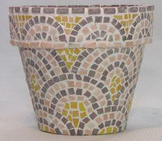 mosaic flower pots - Google Search