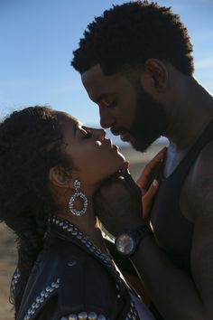 Photo shared by Black Love 💞 on February 2020 tagging Image may contain: 2 people, beard, closeup and outdoor Black Love Couples, Black Love Art, Cute Couples Goals, Couple Posing, Couple Shoot, Beautiful Couple, Black Is Beautiful, Black Relationship Goals, Couple Aesthetic
