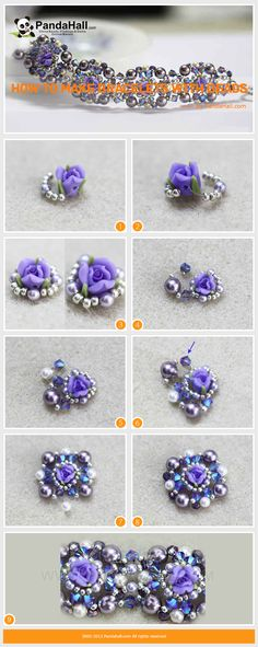 There are various free beaded jewelry tutorials to help you handle the popular jewelry inspiration projects. And in the following one, I will show you how to make bracelets with beads and Nylon wire in several minutes.