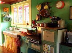 darling cottage kitchen