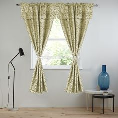 Polyester Jacquard window curtain with valance Rod pocket living room curtain Christmas window panel Damask Wine Window Panels, Window Curtains, Hotel Shower Curtain, Custom Curtains, Rod Pocket, Damask, Windows, App, Living Room
