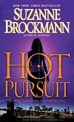 Suzanne Brockmann, HOT PURSUIT.  Book # 15 of the Troubleshooters Series. Gotta love those Navy SEALS!