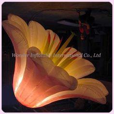 Best selling 1.5M fantastic wedding stage decoration led inflatable flower #Affiliate