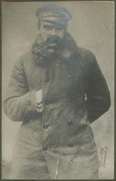 Józef Piłsudski, 1917, fot. Jan Ryś w Zakopanem