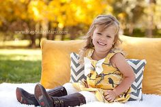 Fall Vintage Yellow Sparrow Dress by simplicitycouture on Etsy