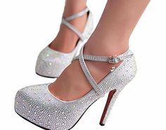 Gaorui Women Glitter Rhinestones Studded Pumps Platform Wedge high heel Shoes Silver red No description (Barcode EAN = 0700220675353). http://www.comparestoreprices.co.uk/shoes/gaorui-women-glitter-rhinestones-studded-pumps-platform-wedge-high-heel-shoes-silver-red.asp