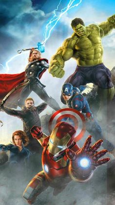 Marvel Avengers wallpaper by - 49 - Free on ZEDGE™ Iron Man Avengers, Marvel Avengers, Marvel Comics, Films Marvel, Marvel Memes, Marvel Characters, Avengers Movies, Fictional Characters, Poster Marvel