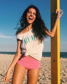 Raw Beauty, Instagram Story Ideas, Beach Babe, Girl Model, Bikini Bodies, Kylie Jenner, Victoria, T Shirts For Women, Crop Tops