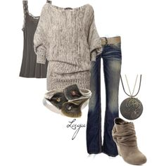 A fashion look from September 2012 featuring Calypso St. Barth tops, Big Star jeans and Charlotte Russe ankle booties. Browse and shop related looks.