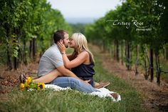 vineyard engagement pictures. yes. please.