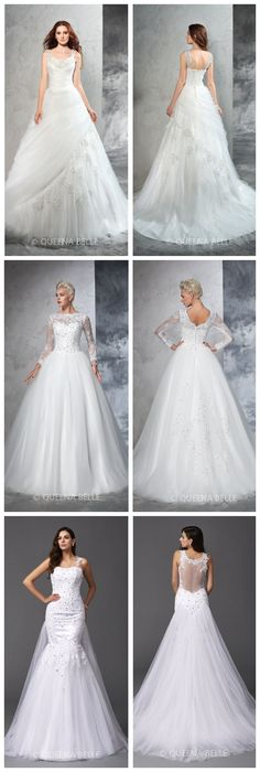 2016 QueenaBelle Wedding Dresses On Sales! Up to 80% Off!
