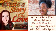Write Fiction that Makes Money Even if You are Starting from Scratch with Michelle Spiva #casylvideointerviews