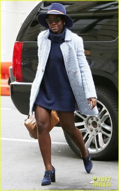 Lupita Nyong'o's Street Style Is Always On Point! | lupita nyongos street style on point 01 - Photo