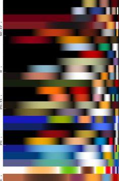 Top Grossing Movies Color Spectrum