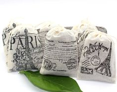 Lavender Sachets - Paris Themed - Set of Party Favor, Thank You Gift, Bridal Shower Favor, Baby S Paris Bridal Shower, Chic Bridal Showers, Bridal Shower Favors, Party Favors, Printable Bridal Shower Games, Lavender Sachets, Solid Perfume, Paris Theme, Thank You Gifts