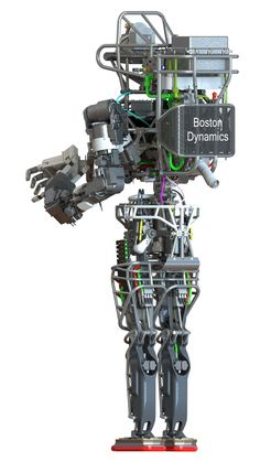 darpa robot   DARPA's Atlas Robot: The Lovechild of Johnny Five and a Flayed T-800