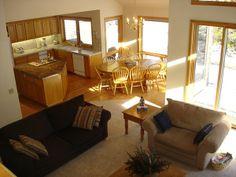 Kitchen And Living Room Open Floor Plans