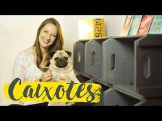 DIY - Transformando Caixotes de Feira em Móveis (PARTE 2) - YouTube