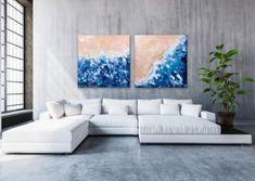 Ocean Aerial View Series by German artist Diana Linsse Diana, Artist Life, White Space, Flower Of Life, Pop Art, Vibrant Colors, Branding Design, Blog, My Arts