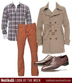 MH #LookoftheWeek vol. 2: Shirt and coat: Moods of Norway. Shoes: John Lobb. Pants: 4Stroke Jeans.