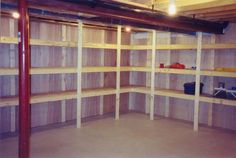 basement storage solutions - Google Search