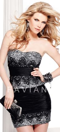 Faviana Cocktail Dress
