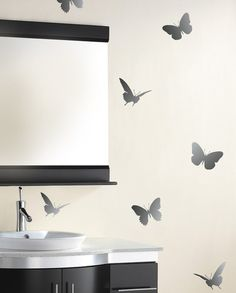 Reusable Butterfly and Dragonfly Stencils by CuttingEdgeStencils