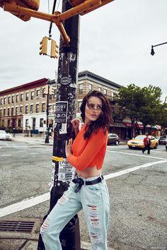 Fernanda Tavares by Lucas Fonseca in 'Brooklyn Groove'