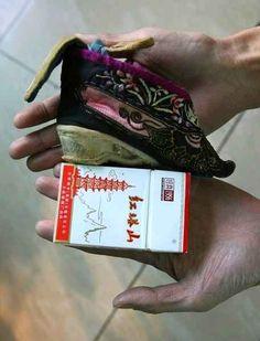 """Китайская национальная обувь. Красота требует """"жертв"""""""