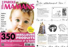 MUM ON THE GO - as seen on Parole de Mamans Magazine Hors série Best of