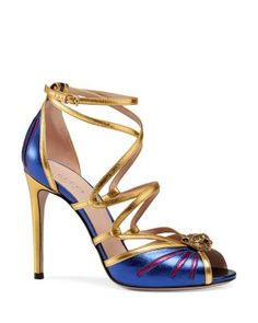 4da47cad7a7 Gucci Bette Strappy High Heel Sandals Shoes - Bloomingdale s