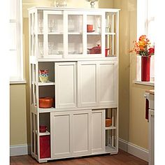 Additional pantry storage for dining room.